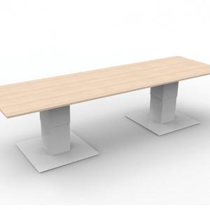 Zit-sta vergadertafel – Bari duo