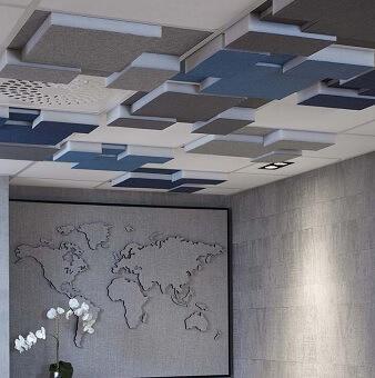 Plafondpanelen akoestisch
