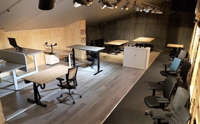 Showroom Demasko kantoorinrichting