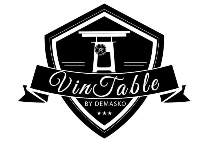 Vintable eettafels By Demasko