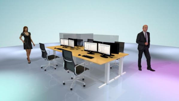 Plexiglas bureauschermen corona