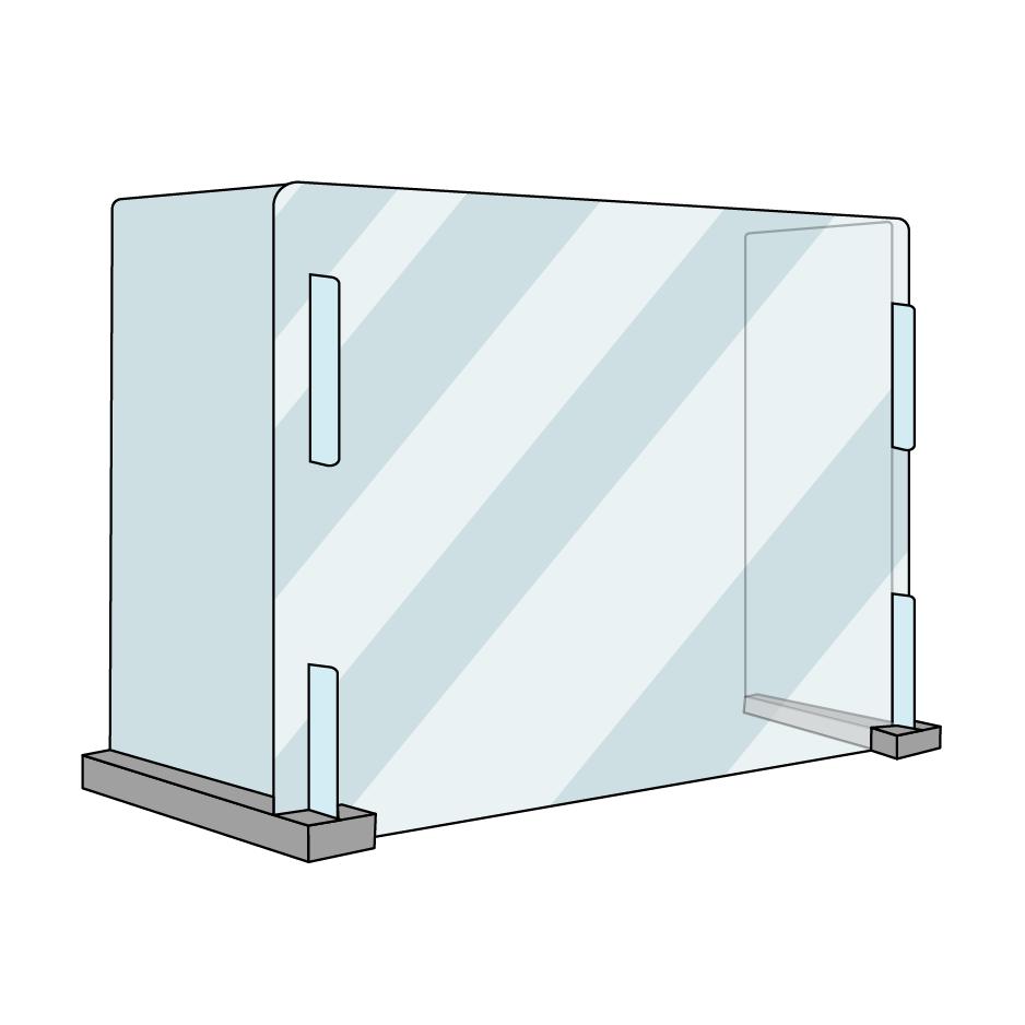 School tafel model - plexiglas